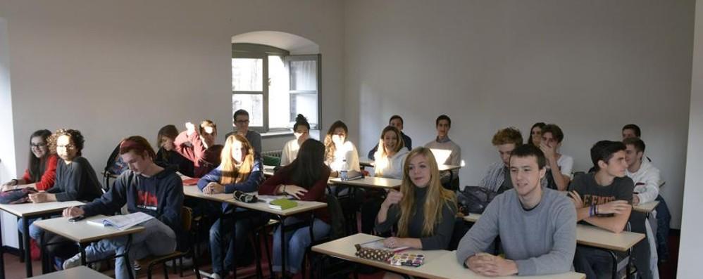 La campanella suona a Palazzo Suardi Nuova casa di cento studenti del Sarpi