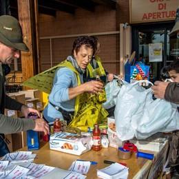 Colletta alimentare per i bisognosi Già raccolte oltre 117 tonnellate di cibo