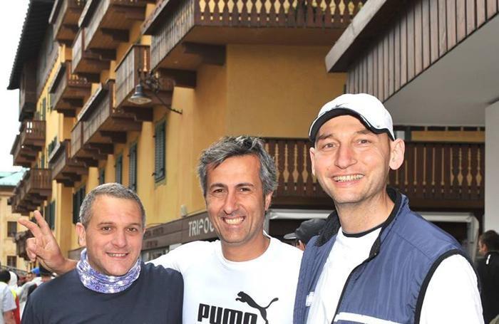 Da sinistra Carlo Faranda, Paolo Colombo e Luca Belloni