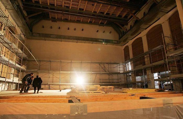 Il restauro del Teatro Sociale