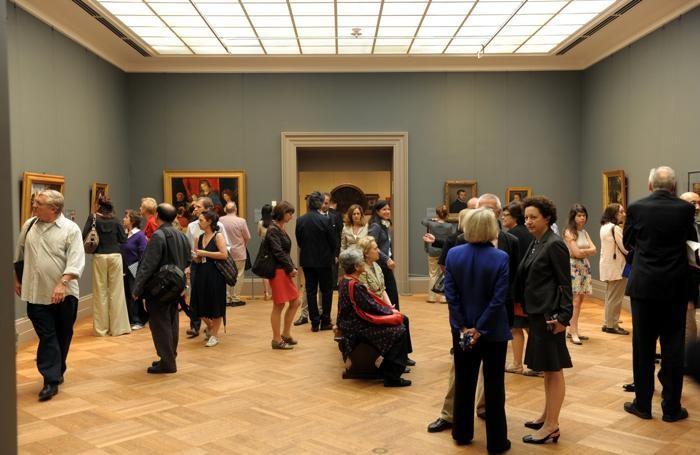 Metropolitan di New York - mostra delle opere dell'Accademia Carrara.
