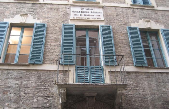 La casa di Pesaro dove nacque Rossini