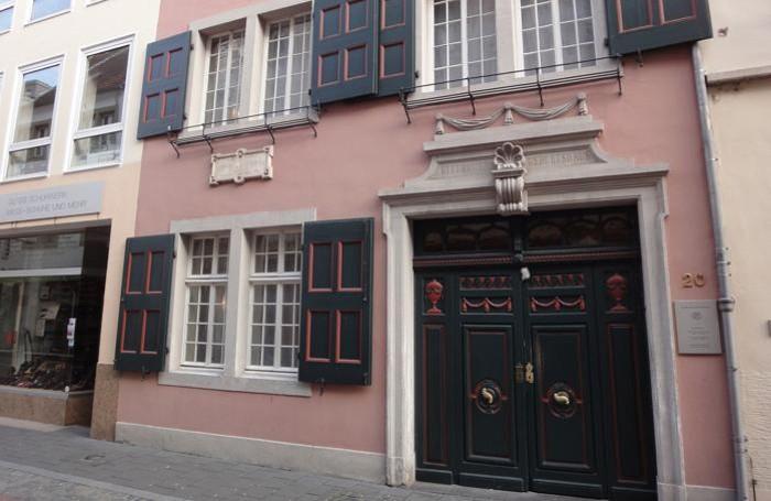 La Beethoven Haus a Bonn