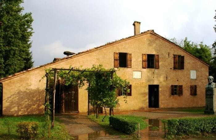 La casa natale di Giuseppe Verdi, a Busseto