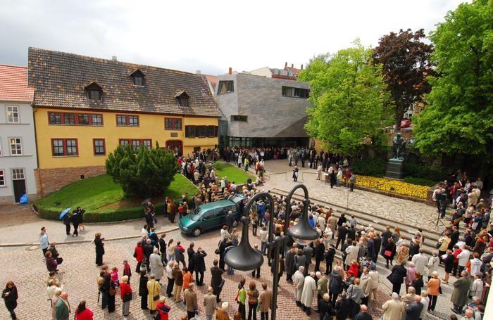 La casa natale di Bach, ad Eisenach