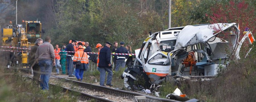 Disastro ferroviario di Pontida Indagini chiuse, probabile processo