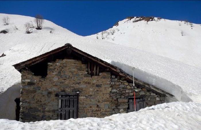 Valbondione: baita Alpe Asta di Mezzo