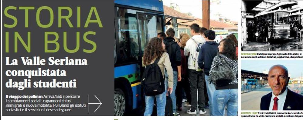Come cambia il territorio se viene visto dal bus