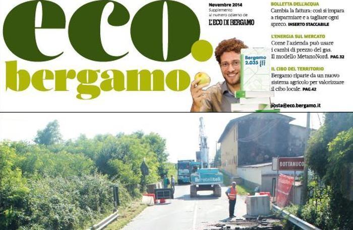 La copertina di eco.bergamo di novembre