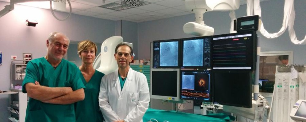 Angioplastica coronarica all'avanguardia Papa Giovanni XXIII primo in Europa