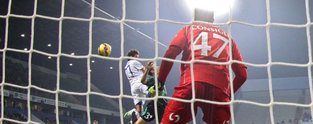 Atalanta, ancora un pareggio per 0-0 Palo di Raimondi contro il Sassuolo