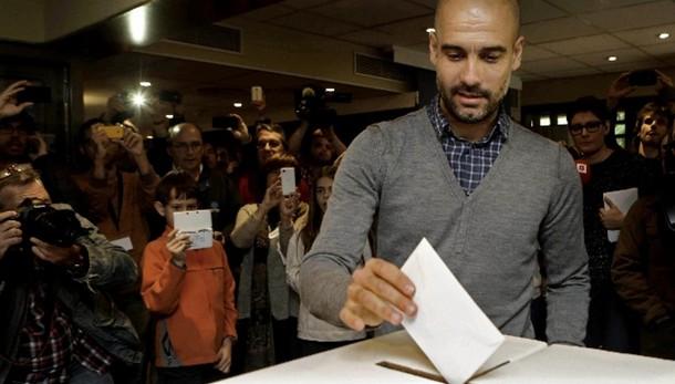 Catalogna:alle 13 hanno votato 1.100.000