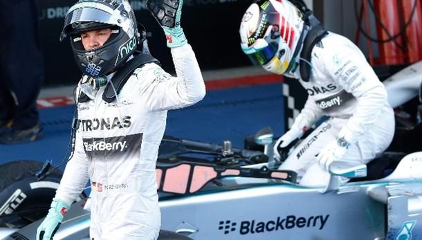 Gp Brasile: vince Rosberg, sesto Alonso
