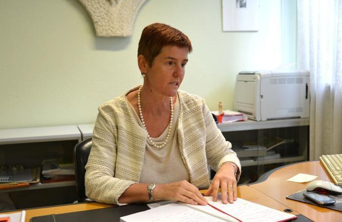 La preside Laura Ferretti