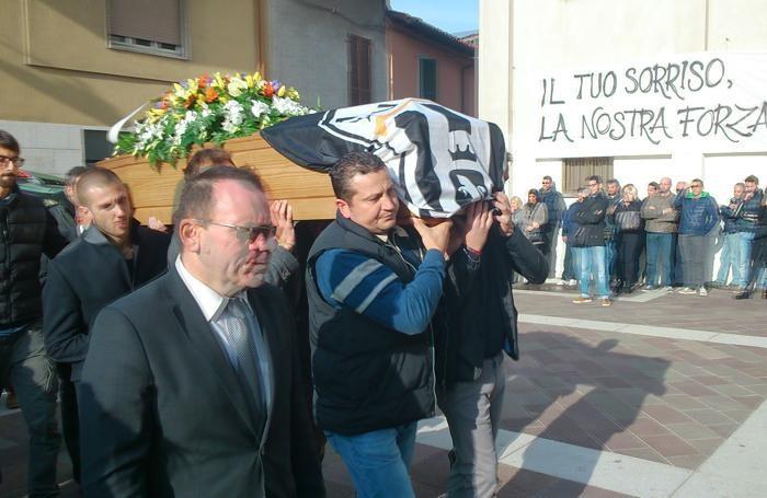 Calvenzano, i funerali di Michel Mapelli