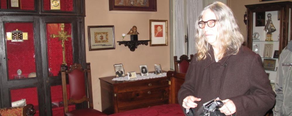 Patti Smith a Sotto il Monte L'icona rock a casa del Santo