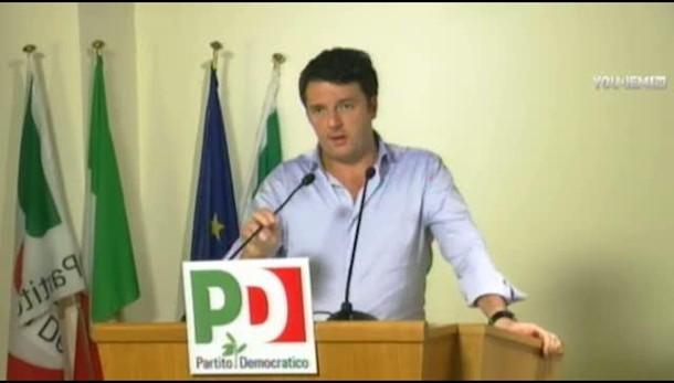 Renzi, impensabile riaprire accordi