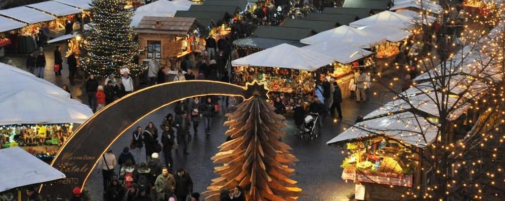 Trento, la Street Art  al mercatino di Natale