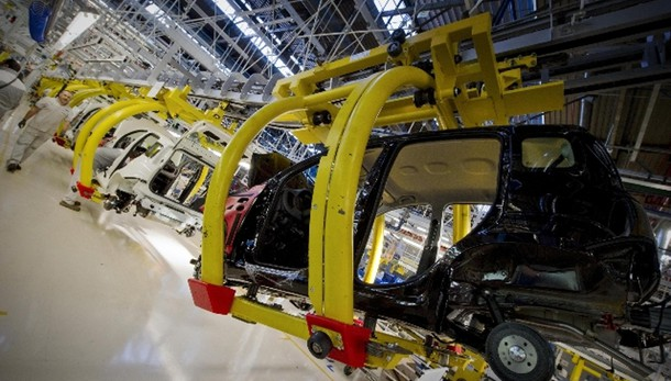 Industria:produzione ottobre -0,1%