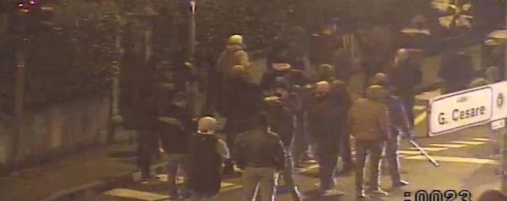 La decisione del Riesame attesa alle 13 Ecco le immagini dei sei ultrà arrestati