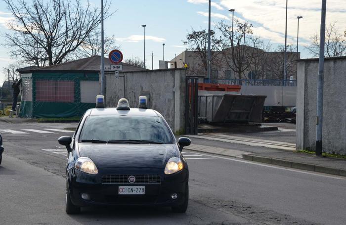 Le indagini dei carabinieri in via San Giorgio a Martinengo