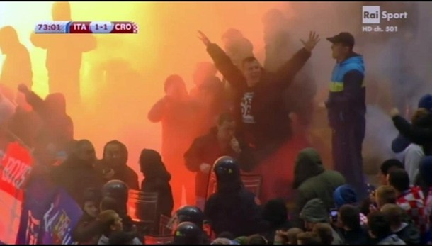 calcio:Italia-Croazia, mano leggera Uefa