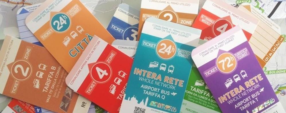 Ecco i nuovi colorati biglietti di Atb Utilizzate quelli vecchi entro giugno