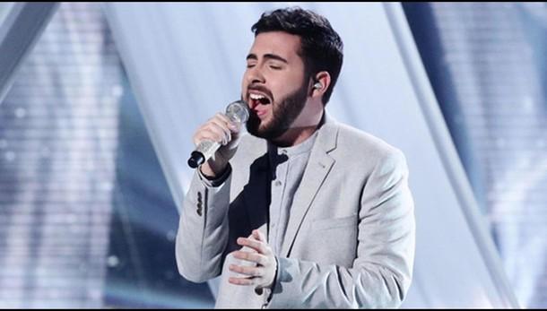 Finale X Factor Uk con italiano Faustini