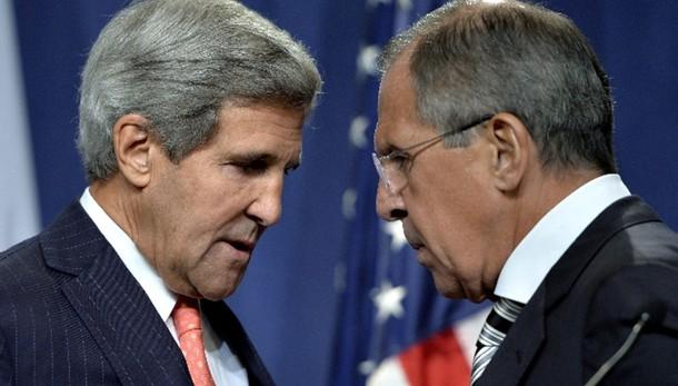 Incontro Kerry-Lavrov a Roma il 14/12