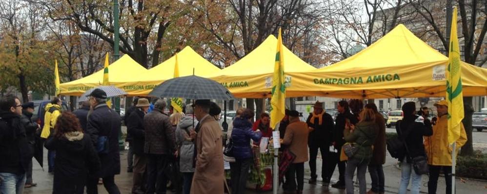 Pane e salame sotto la pioggia: «Valorizziamo l'insaccato bergamasco»