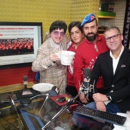 Con «sorrisi e caffè» di Radio Alta raccolti 1.750 euro per i City Angels