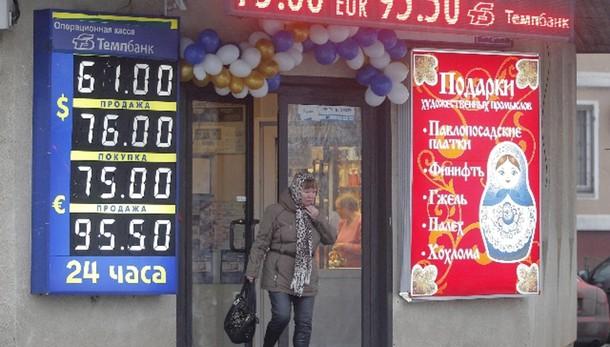 Russia: rublo in leggera ripresa