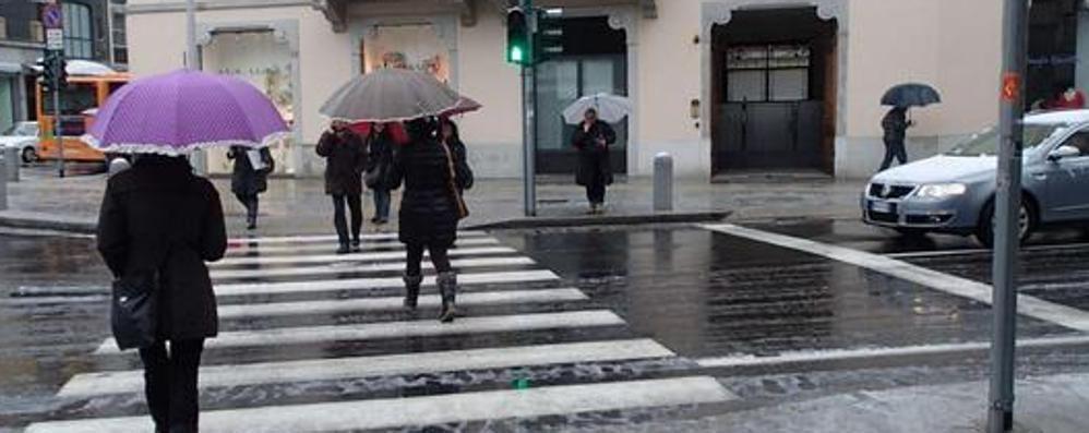 Dicembre parte con l'ombrello Temporali e settimana instabile