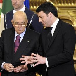 Il governo è debole Napolitano fa il tutor