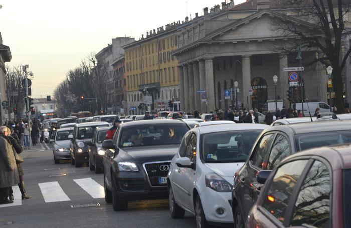 Il traffico in centro