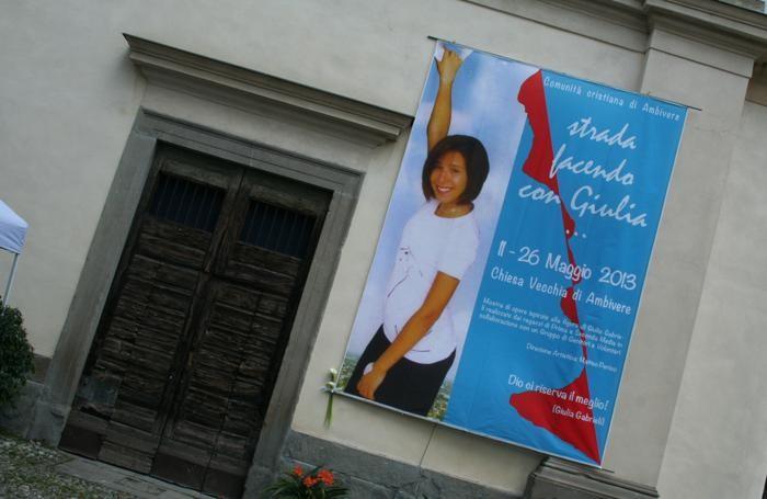 Una mostra dedicata a Giulia ad Ambivere, nel maggio 2013