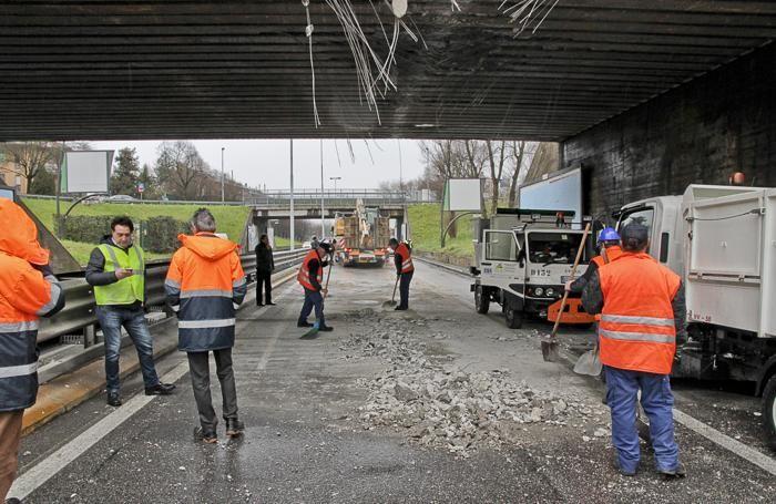 L'incidente al ponte del Monterosso, il 7 febbraio 2014