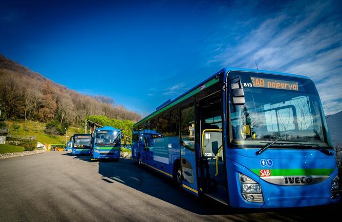 I nuovi bus della Sab