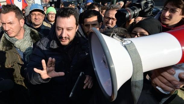 Salvini, al Colle no un uomo del Pd