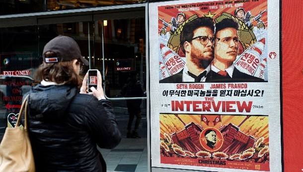 'The Interview' in sale Usa a Natale
