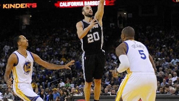 Basket:Nba, Oklahoma-San Antonio 114-106