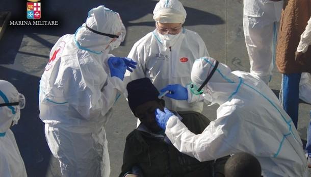 Soccorso migrante, sintomi malaria e Tbc