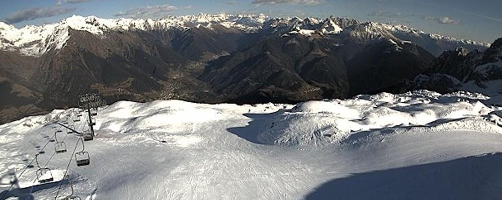 Arriva la neve: poche stazioni aperte La stagione decolla con fatica