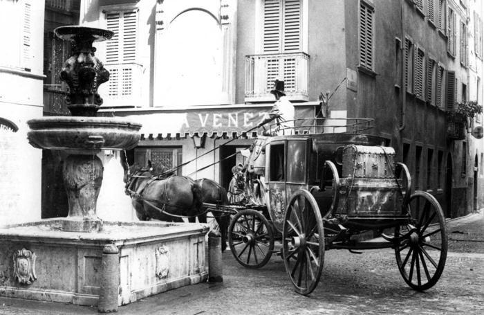 L'Agnello d'oro divenne il caffè La Bella Venezia nel film tv «Le cinque giornate di Milano»