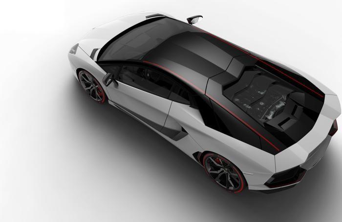 La Lamborghini Aventador LP 700-4