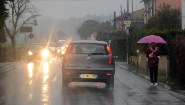 Maltempo:piogge e vento in arrivo al sud