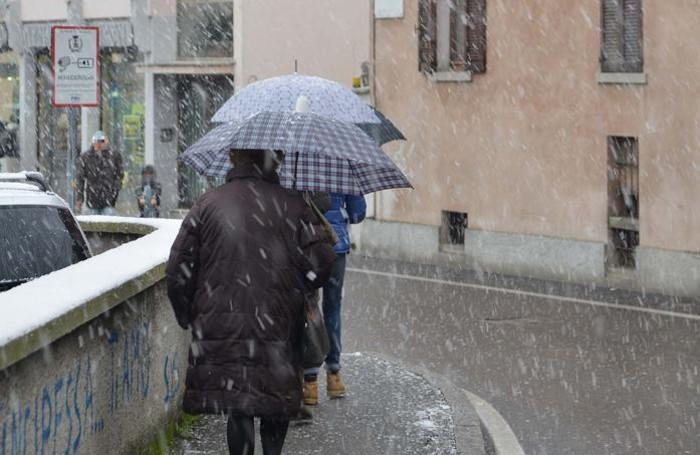 Neve a Treviglio