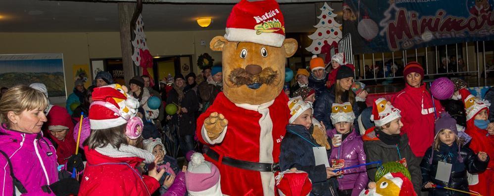 Il 30 la Minimarcia di Natale A Selvino ci sono Berto il castoro e i lupi