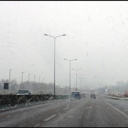 Neve sulla circonvallazione foto di Giuseppe