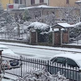 Neve a Mozzanica, foto di Mattia